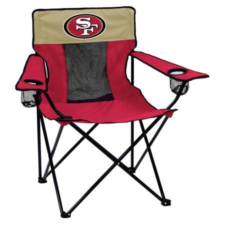 Logo Brands NFL Team Elite Folding Chair