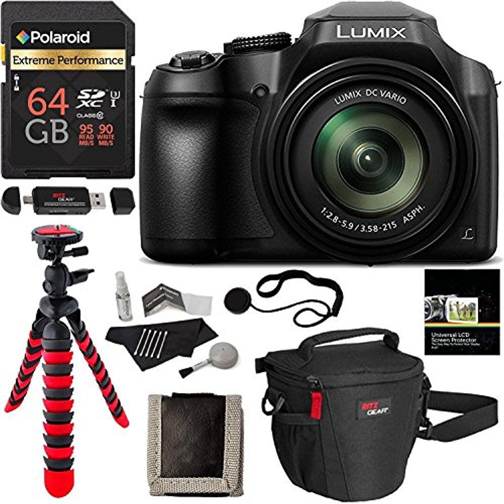 Panasonic FZ80 Lumix 4K Long Zoom Camera 18.1MP F2.8-5.9  MANUFACTURER WARRANTY