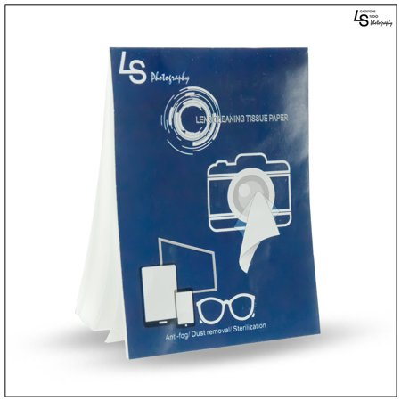 Cleaning Paper Tissue for Camera Lenses, Filters & Other Optical Devices Removes Dust & Lint Pack of 50 Sheets by Loadstone Studio WMLS1155