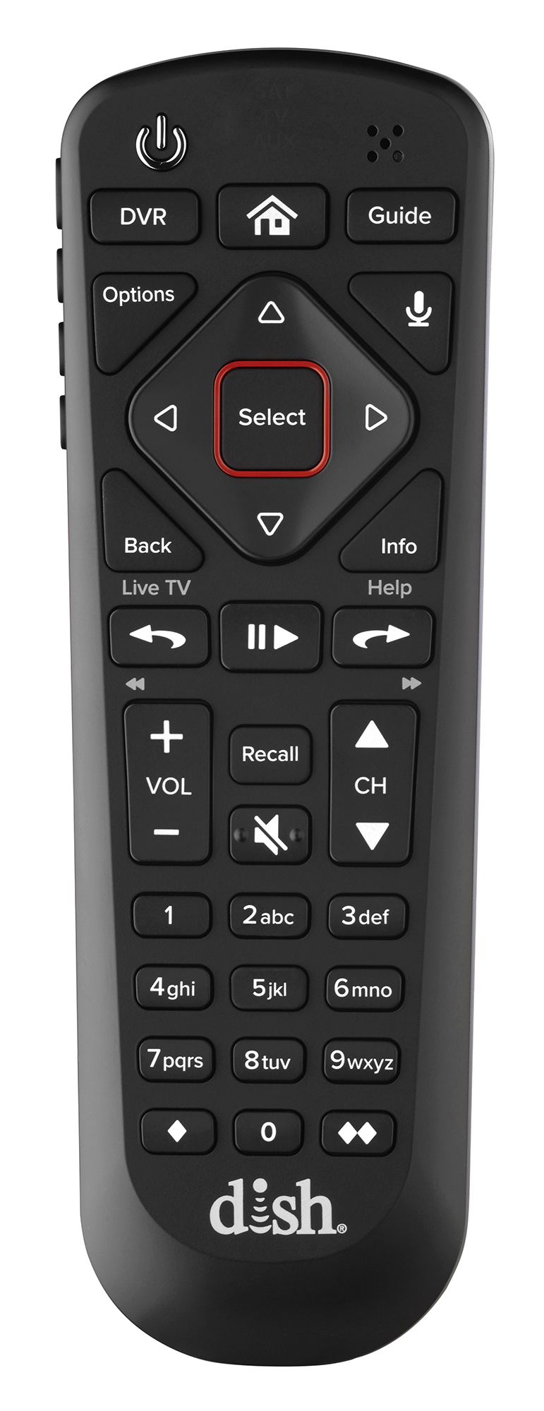 Voice Control,illuminated Buttons BRAND NEW//OEM 54.0 Dish Network Voice Remote