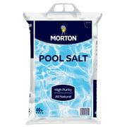 Morton® Pool Salt, 40 lb. Bag – All Natural, Highly Rated