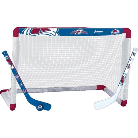 Franklin Sports NHL Colorado Avalanche Mini Hockey Set ()