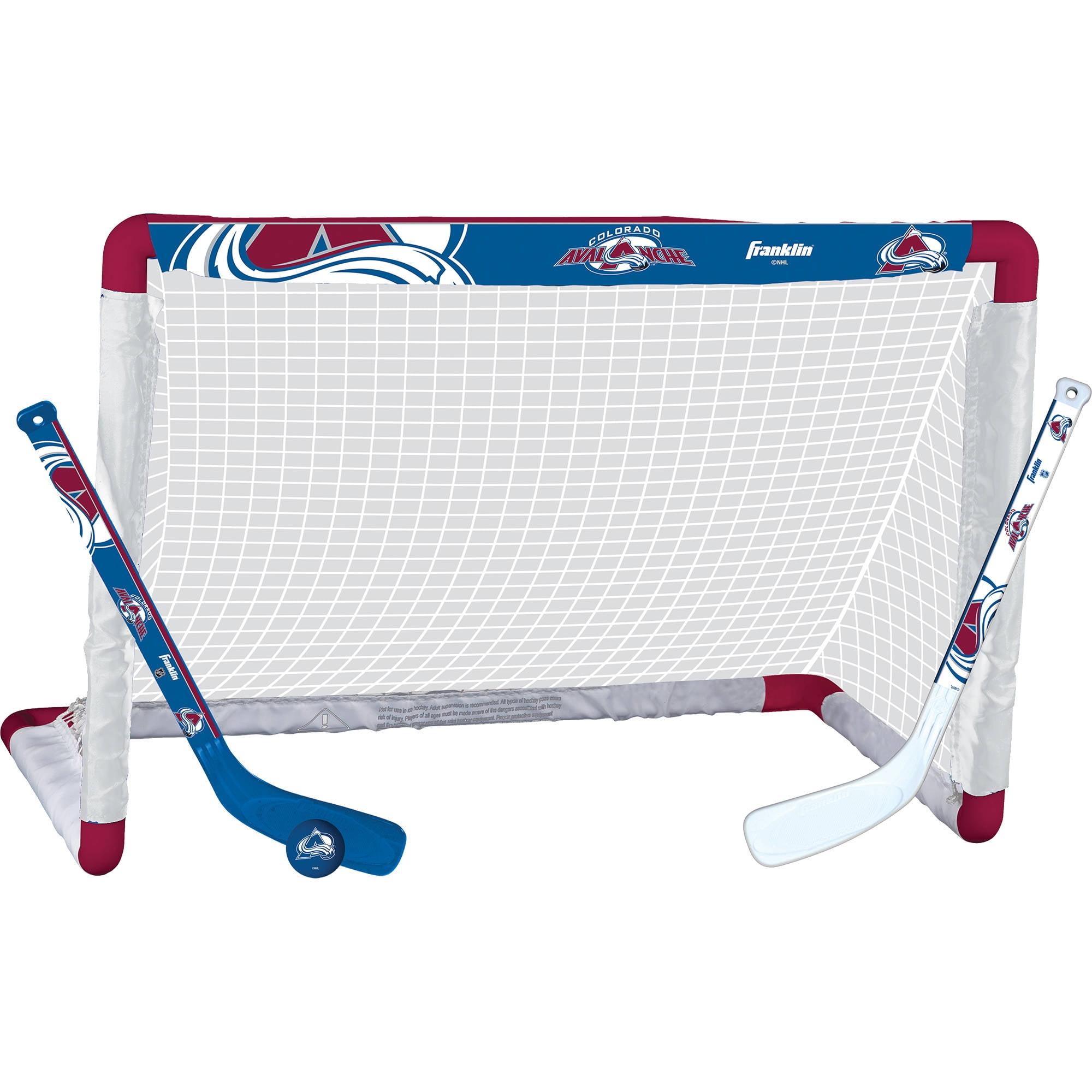 Franklin Sports NHL Colorado Avalanche Mini Hockey Set