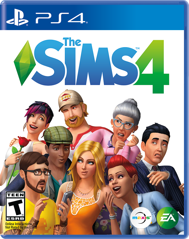 The SIMS 4, Electronic Arts, PlayStation 4, 014633738179 by Electronic Arts