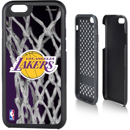 Los Angeles Lakers Net Design Apple iPhone 6 Rugged Case by Keyscaper by