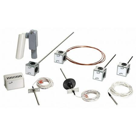 Flush Mount Temperature Sensor (JOHNSON CONTROLS Temperature Sensor,Flush Mount TE-6310F-1)