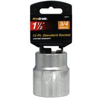 "3/4"" Drive 12 Point 1 1/2"" Socket Jumbo Size Torque SAE Dyna-Drive Pro Grade New"