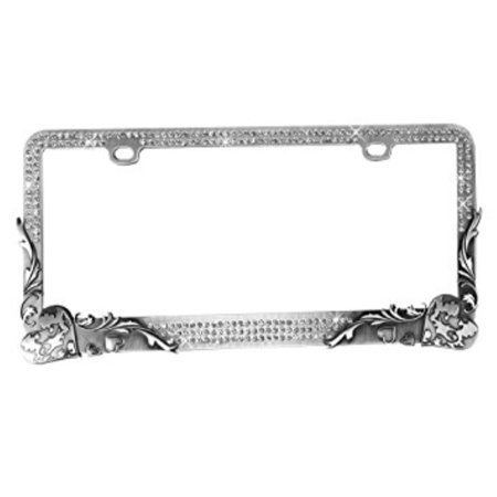 Valor LPF2HG011TSK Design License Plate Frame with (Unlimited Photos)