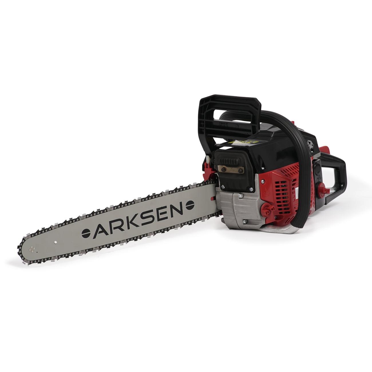 ARKSEN   Gasoline Powered Chainsaw   Wood Cutter   22 Inch Bar   w  Aluminum Crankcase   45cc   12,000 RPMs  ... by Arksen