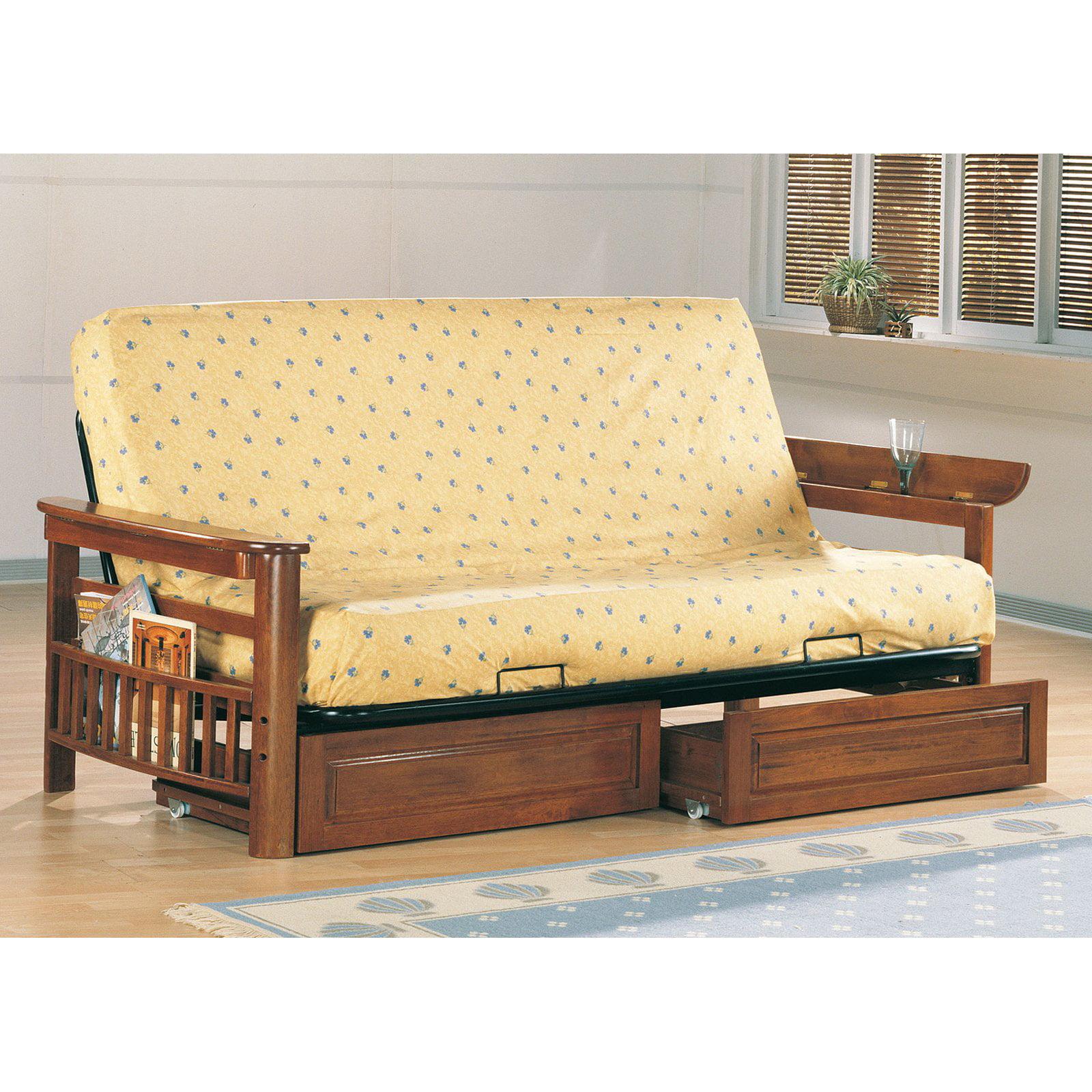 Coaster Dayton Convertible Sofa with Optional Drawers