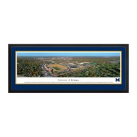"""Georgia Tech Yellow Jackets 18"""" x 44"""" 1D Deluxe Framed Panoramic Wall Art - No Size"""