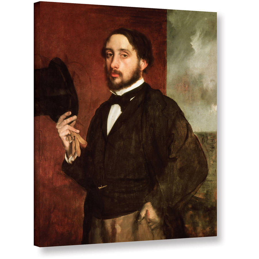 "Edgar Degas ""Self Portrait"" Gallery-wrapped Canvas Art"