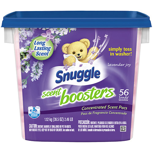 Snuggle Scent Boosters Lavender Joy Concentrated Scent Pacs, 56 count, 39.5 oz