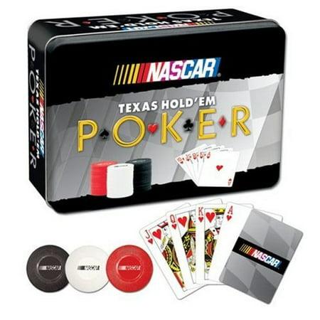 Nascar USAopoly Texas Hold'Em Poker Set