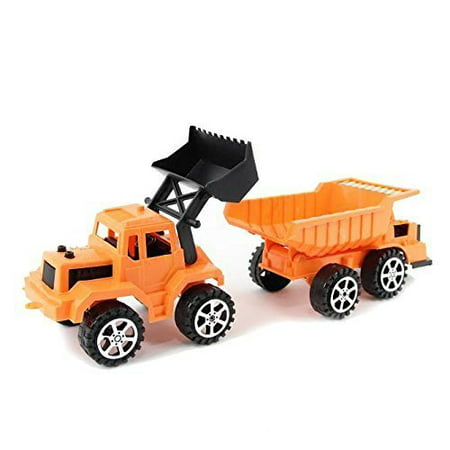 Dazzling Toys Construction Dump Truck and Excavator