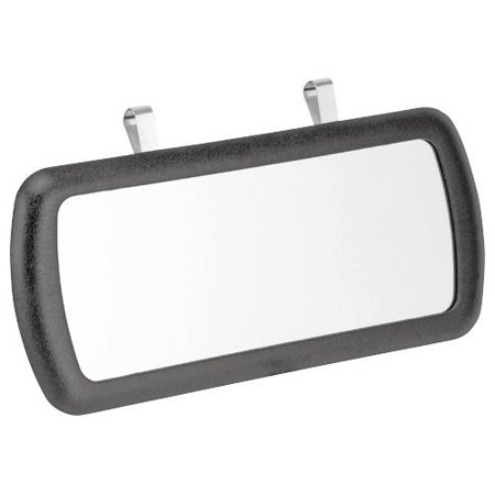 Bell Visor Mirror 22-1-04331-8, Black, Clips to vehicle sun visor with clips provided By Bell Automotive