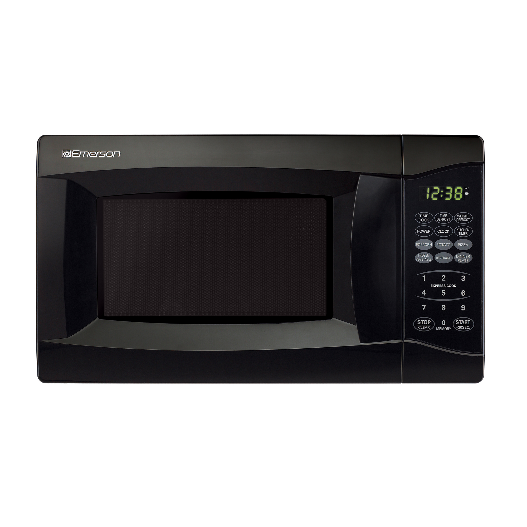 Emerson 0.7 CU. FT. 700 Watt, Touch Control, Black Microwave Oven MW7302B by Emerson Radio Corporation