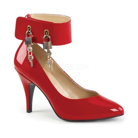 Pleaser Pink Label Dream 432 Ankle Strap Pump (Women's) VP15p