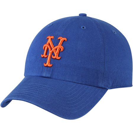 - New York Mets Fan Favorite Primary Logo Clean Up Adjustable Hat - Royal - OSFA
