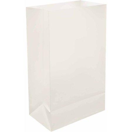 Lumabase Plastic Luminaria Bags, 100-Count