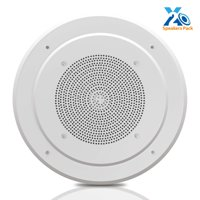 PYLE PDICS8 - 8.0'' Inch In-Wall / Ceiling Speaker with 100V Transformer Tap (for Commercial PA Intercom System) (200 Watt)