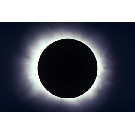 Total Solar Eclipse Taken Near Carberry, Manitoba, Canada Print Wall