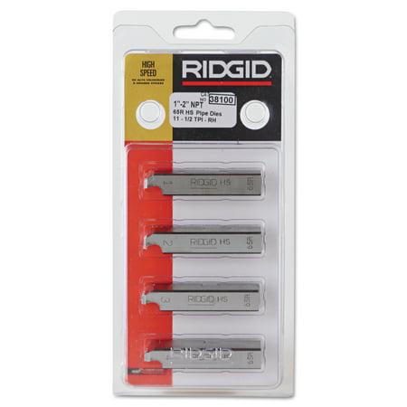 Ridgid Pipe Threader - RIDGID High-Speed RH Receding Threader Pipe & Bolt Die, NPT, 1