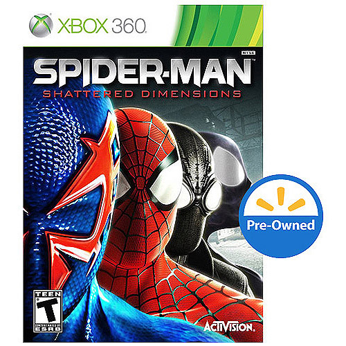 Spiderman Shattered Dimen (Xbox 360) - Pre-Owned