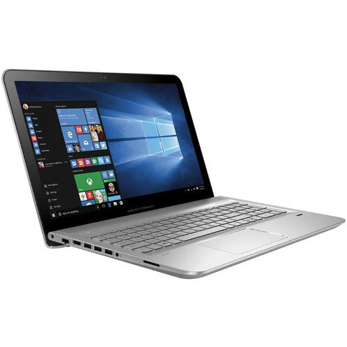 "Refurbished HP Natural Silver 15.6"" Envy Laptop PC with Intel Core i5-5200U Processor, 6GB Memory, touch screen, 1TB Hard Drive and Windows 10 Home"
