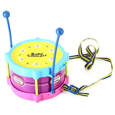 5pcs Novelty Kids Roll Drum Musical Instruments Band Kit Children Toy Baby Gift Set - image 6 de 8