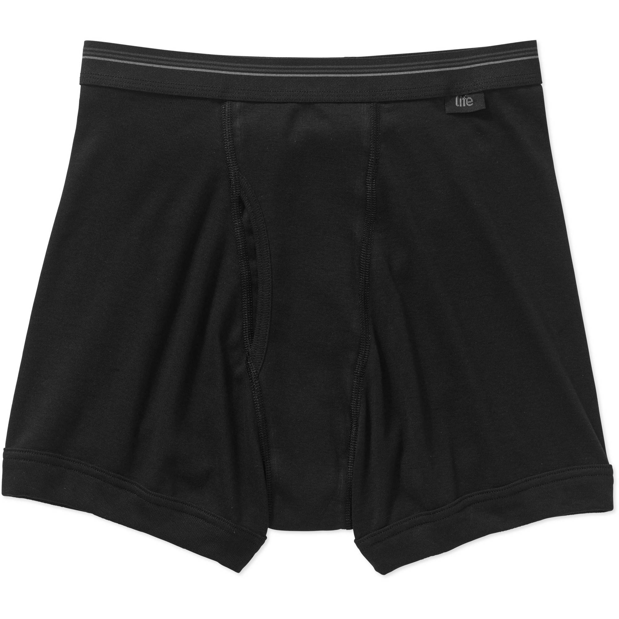 Life by Jockey Assorted Cotton Boxer Brief, 3 pack