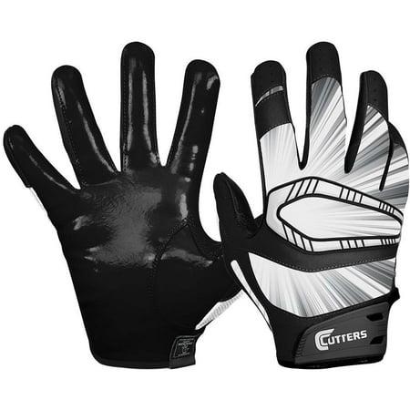 Cutters Gloves REV Pro Receiver Glove (Pair) Black  XL Large