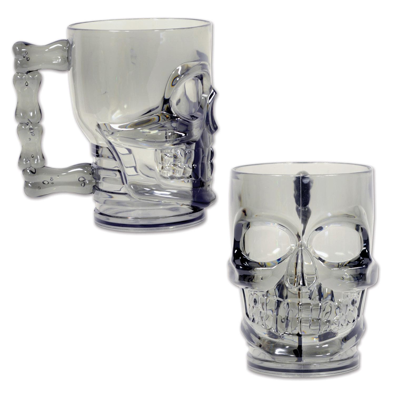 Plastic Skull Mug (Pack of 12) - image 1 de 1