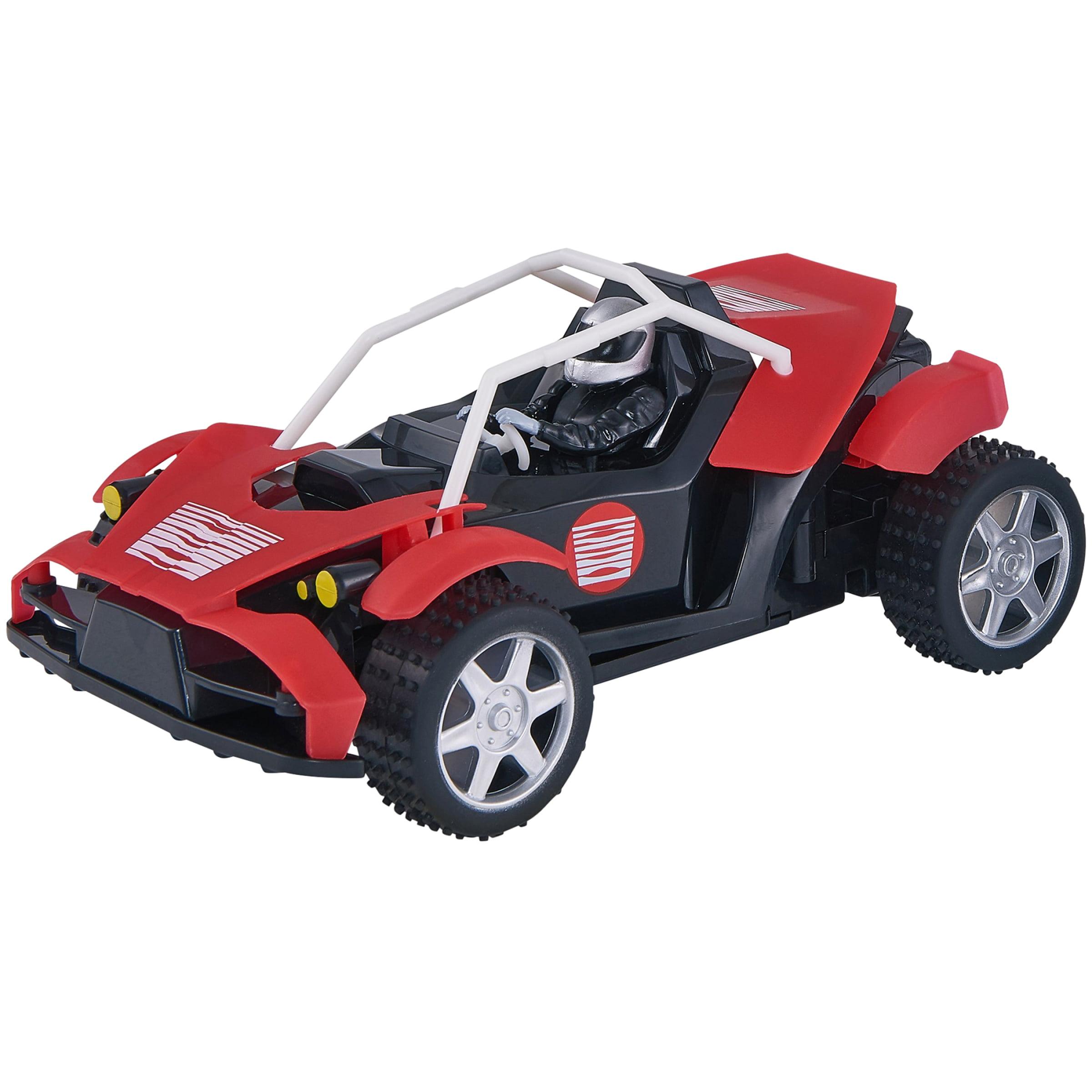 Adventure Force 98' Range Night Racer Radio Controlled Vehicle, Red & Black