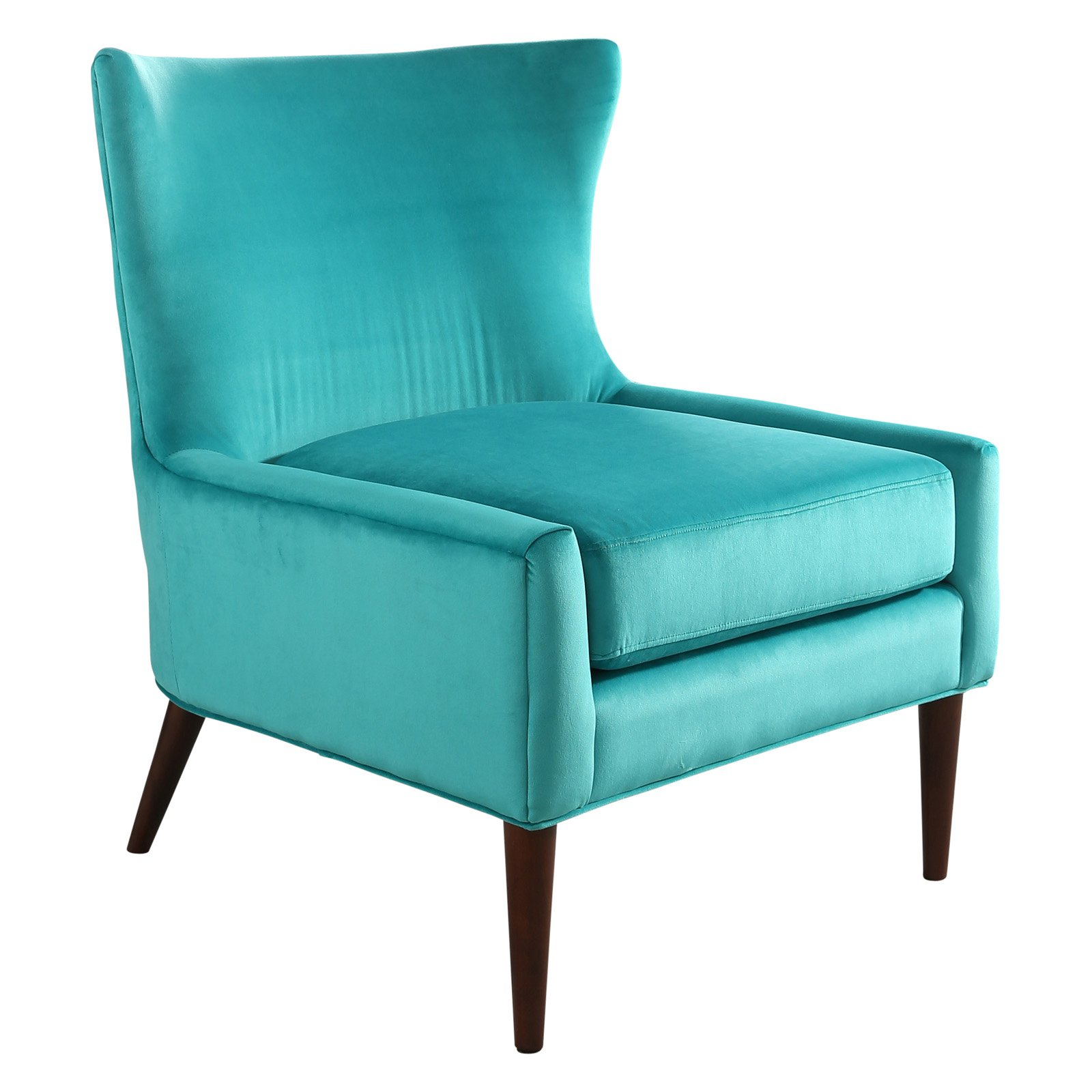 Abbyson Haze Velvet Wingback Chair