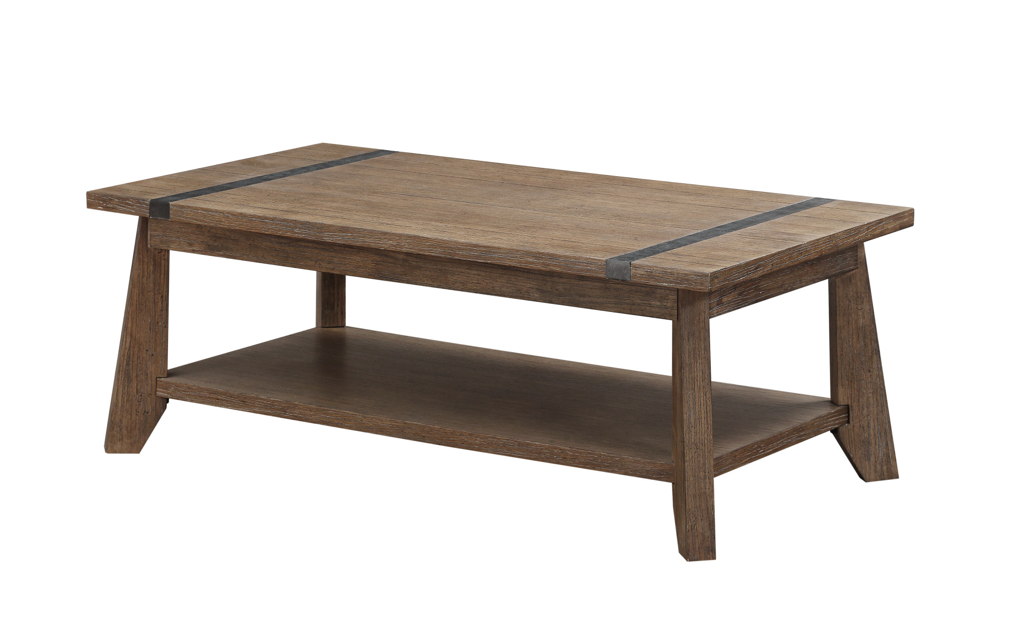 Emerald Home Viewpoint Rectangular Cocktail Table Driftwood T977-0 by Emerald Home Furnishings, LLC