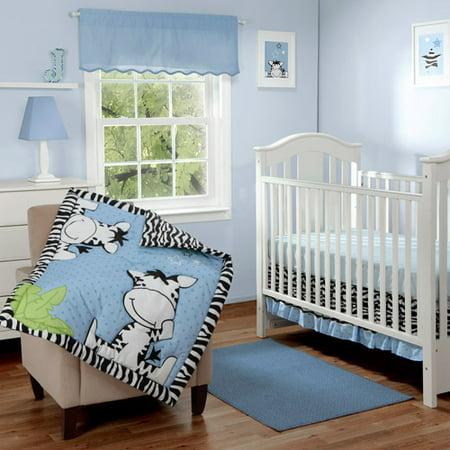 Baby Boom I Luv Zebra Crib Bedding