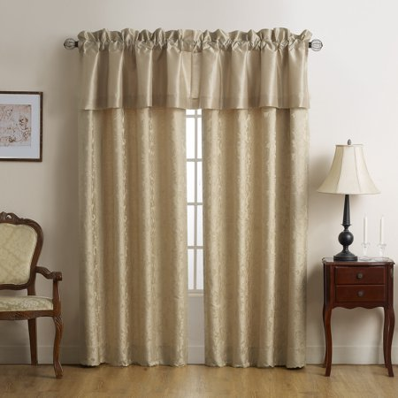 Marquis by Waterford Isabella Gold Silk Tailored Window