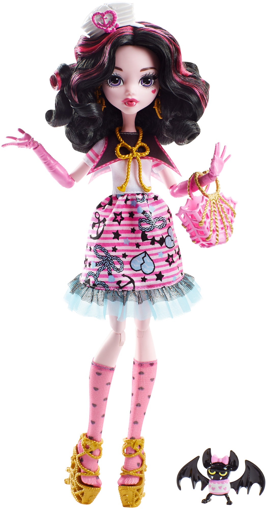 Monster High Shriekwrecked Nautical Ghouls Draculaura Doll by Mattel