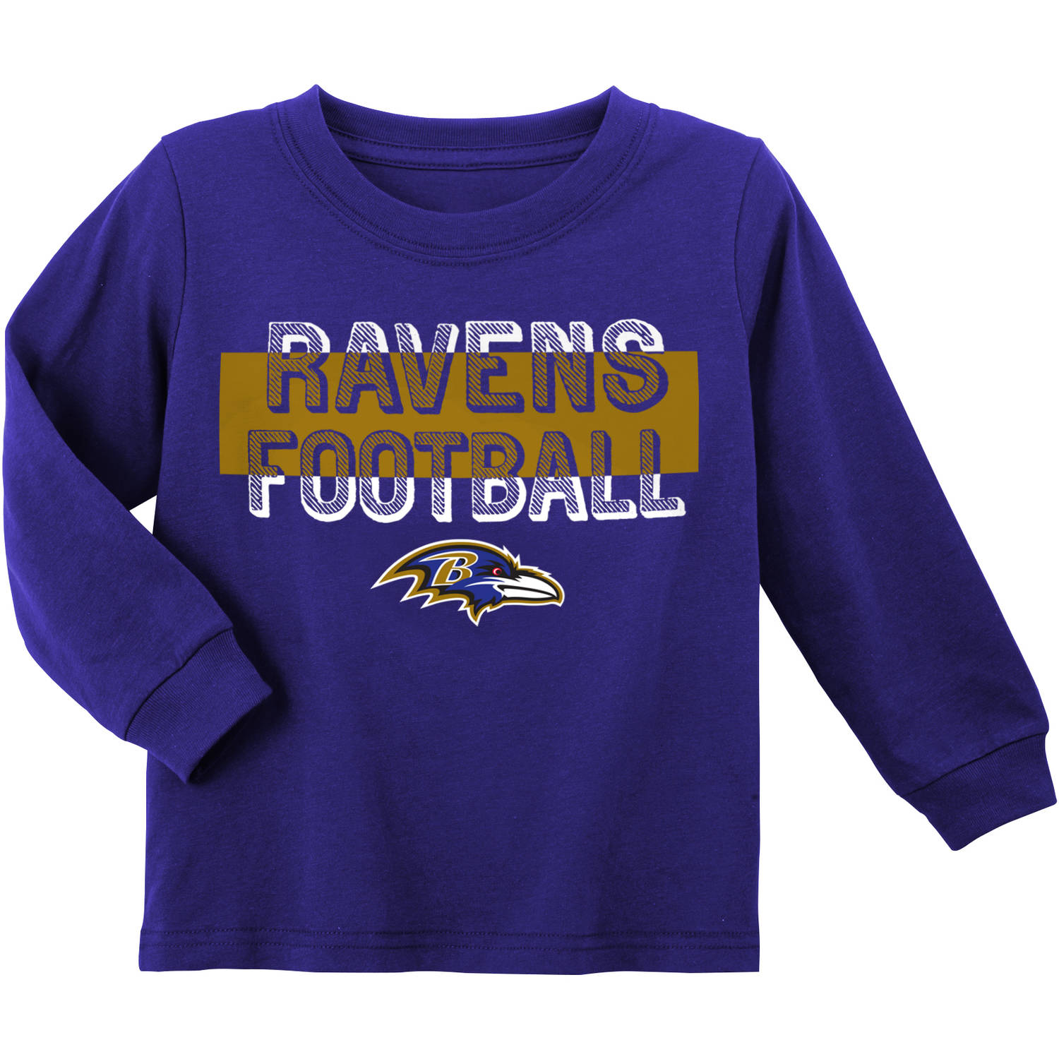 NFL Baltimore Ravens Toddler Long Sleeve Tee