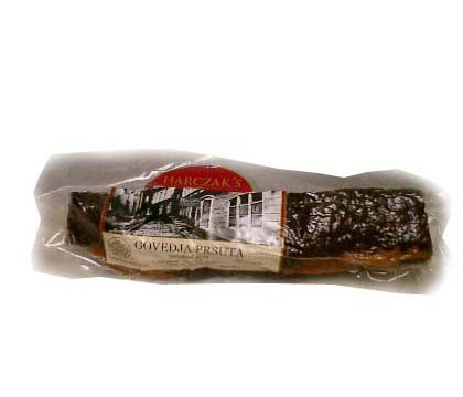 Smoked Beef Loin-Prsuta, approx. 1lb by