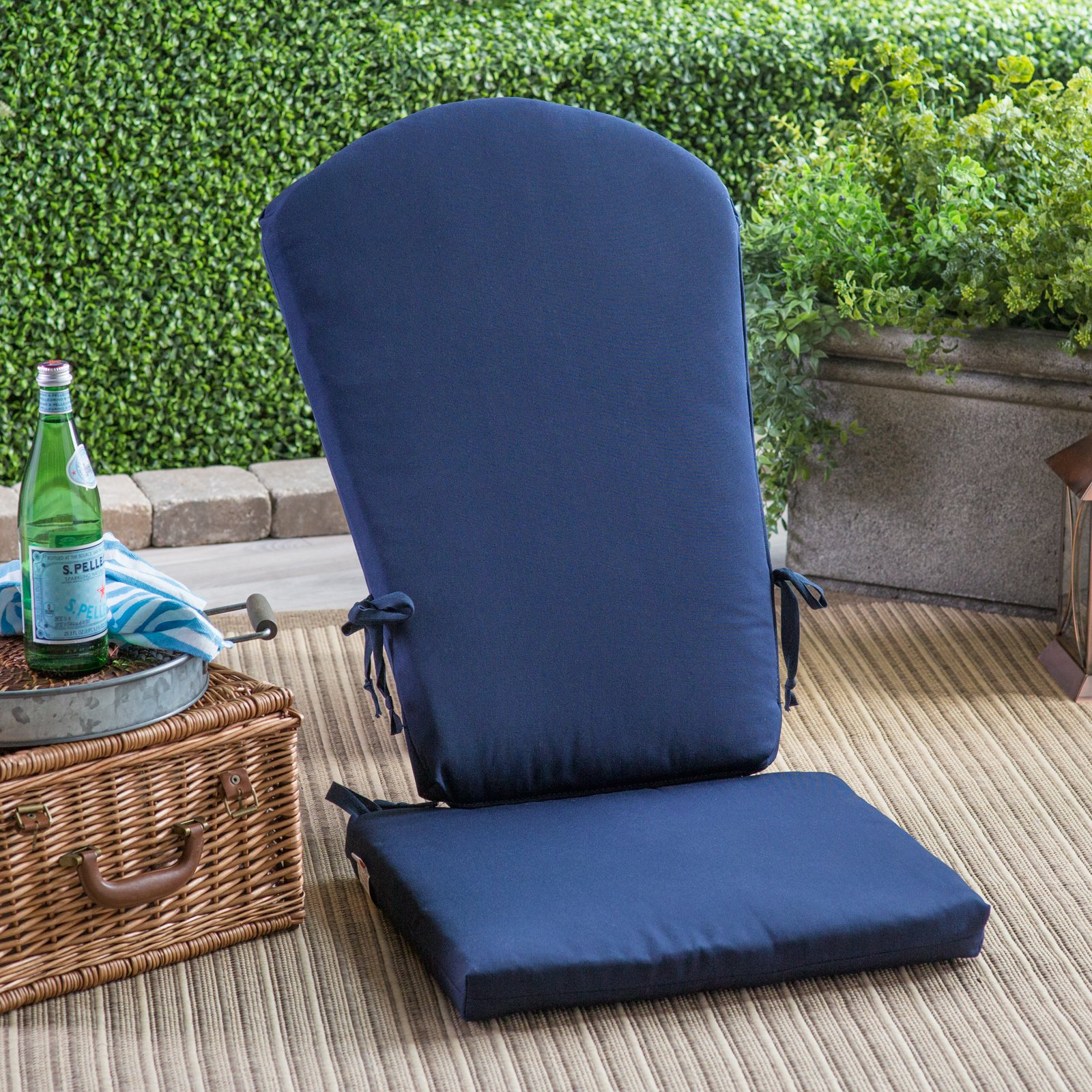 Polywood Reg Sunbrella 45 5 X 20 In South Beach Chair Cushion