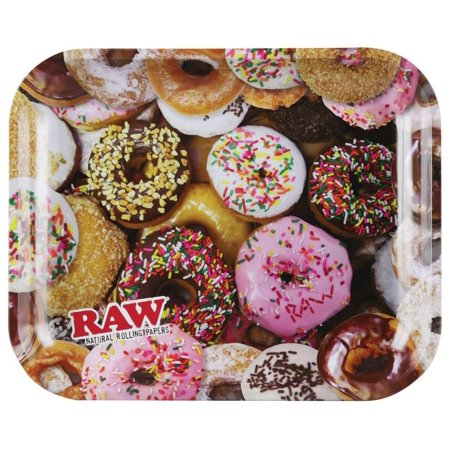 Raw Rolling Tray - Donuts - Large / 13.25
