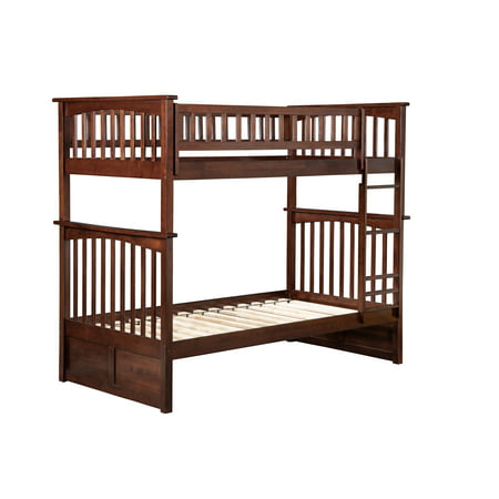 Columbia Bunk Bed Twin over Twin in Multiple Colors and