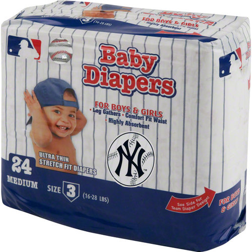 MLB - New York Yankees Baby   Diaper Pack