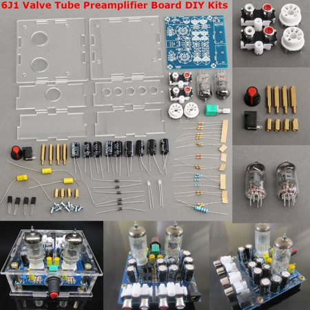 Bass Classical Amps - 6J1 Valve Tube Preamplifier Board Bass on Musical Fidelity DIY HiFi Tube Amp Kits X10-D & Case