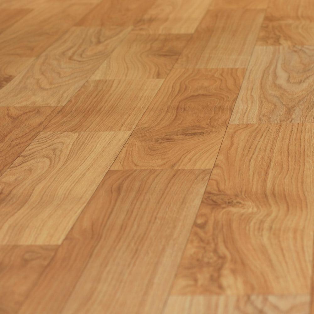 """Rubber-Cal """"Terra-Flex Oak"""" Premium Flooring Rolls - 2 mm x 5 ft x 10 ft Roll - Golden Oak"""