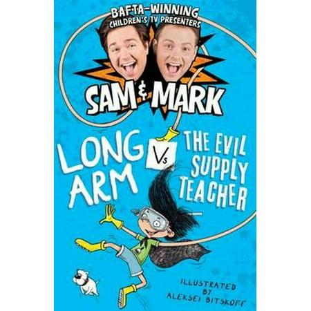 Long Arm Vs The Evil Supply Teacher (The Adventures of Long Arm) (Paperback) (Discount Teacher Supply)