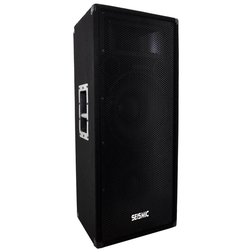 "Seismic Audio Dual Premium 12"" PA/DJ Speaker Cabinet with..."