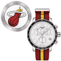 Tissot Quickster Miami Heat NBA Special Edition Silver Dial Mens Watch T0954171703708